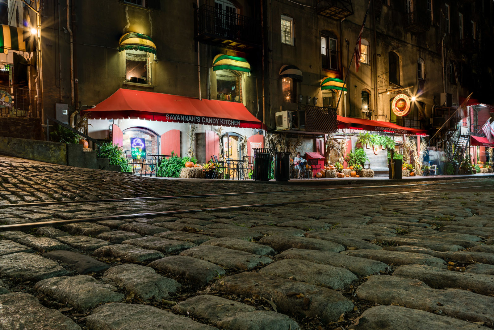 Cobblestones and Trolley Tracks