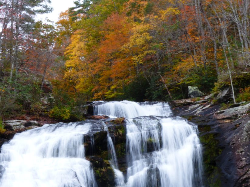 Ball River Falls in the Fall