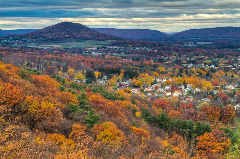 Fall in the Valley