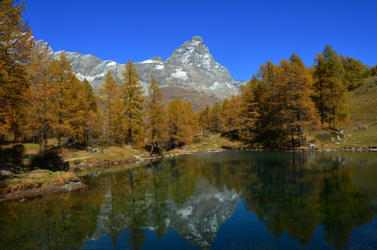 Autumn in Cervinia