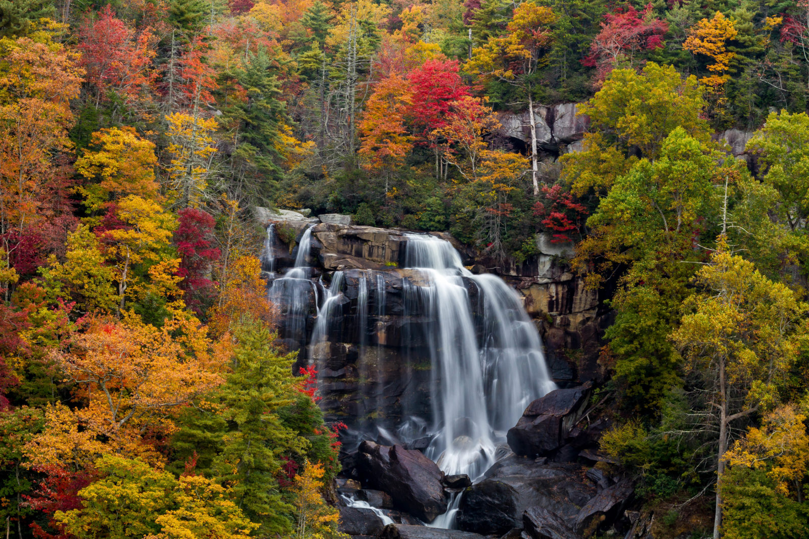 Upper Whitewater Falls