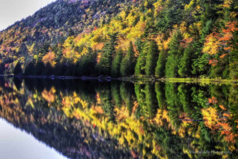 Fall Colors at Bubble Pond