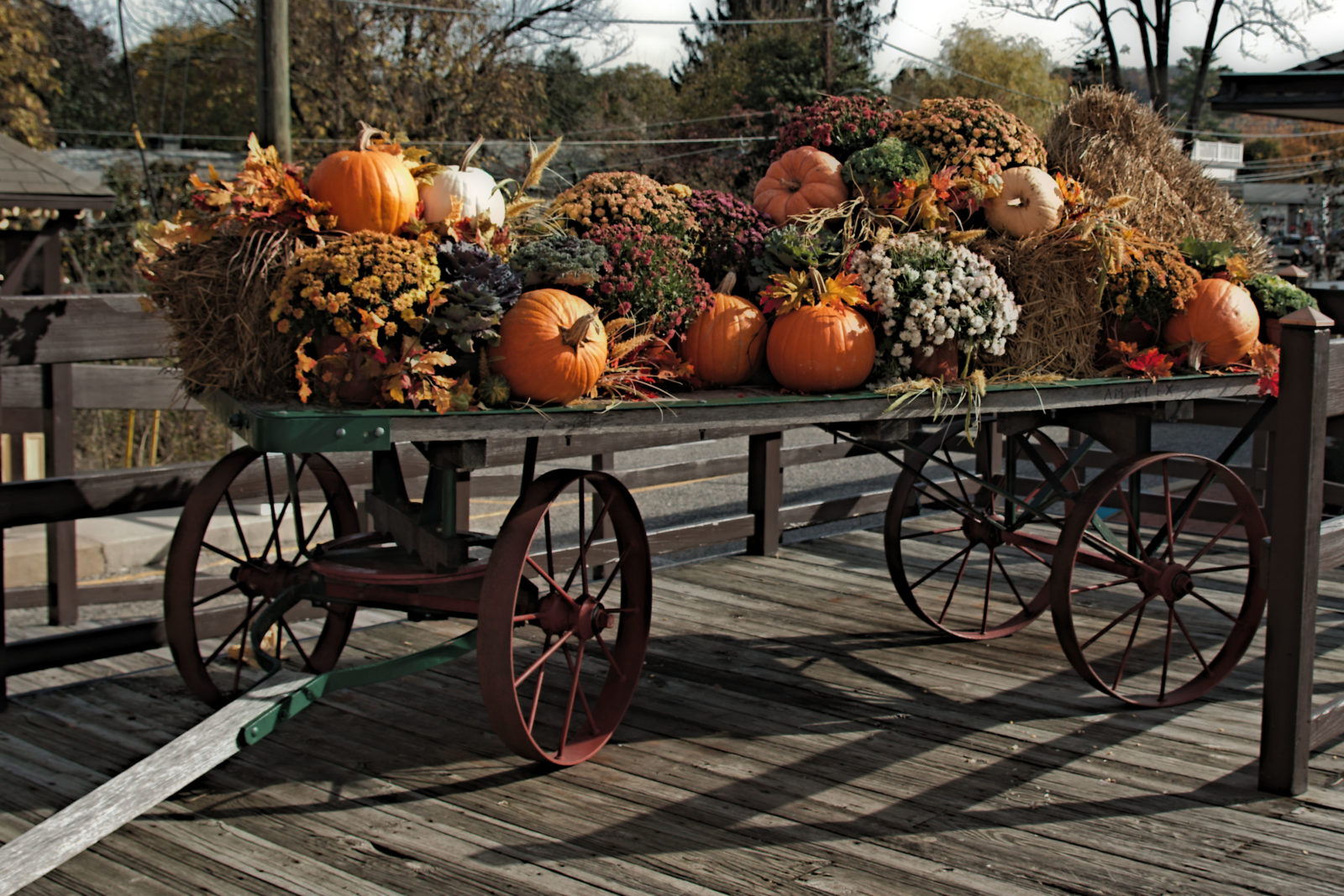 Autumn Cart