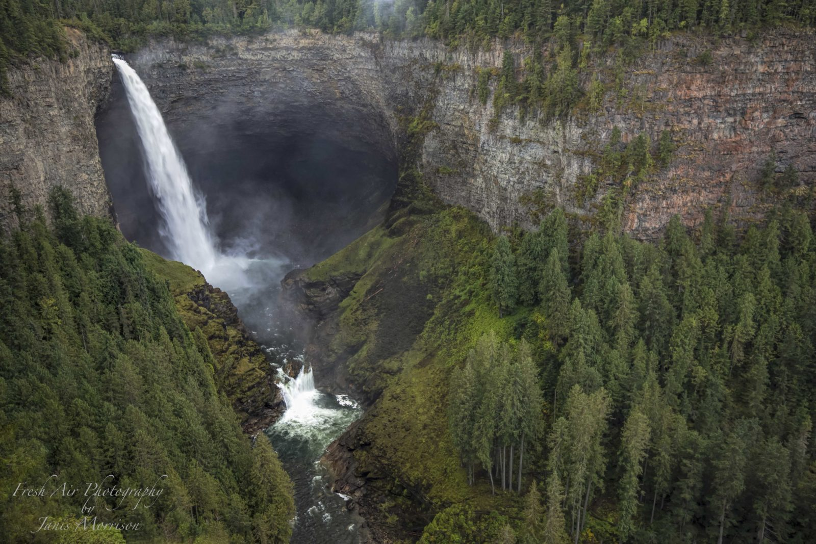 The Power of Helmcken Falls