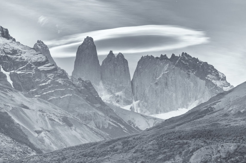 Torres del Paine at Dawn