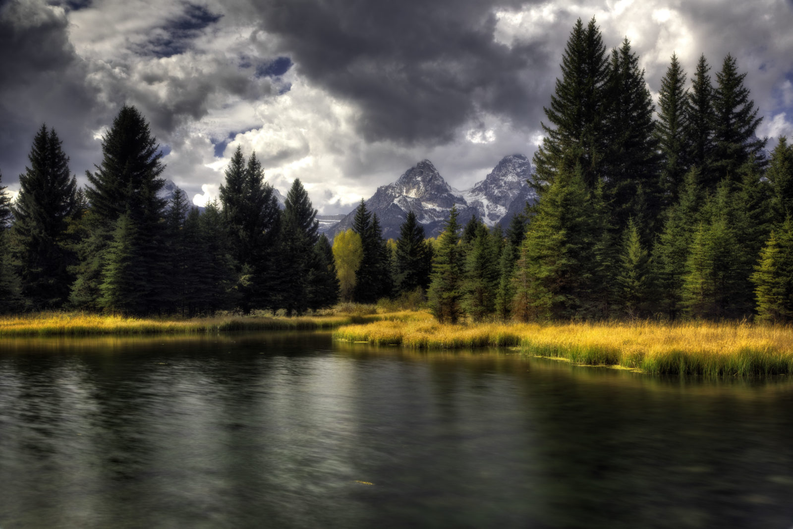 Afternoon at Schwabachers Landing