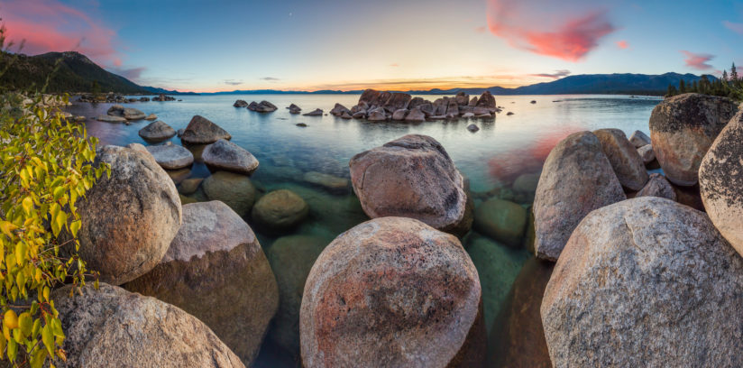 Tahoe Boulders at Sunset 18