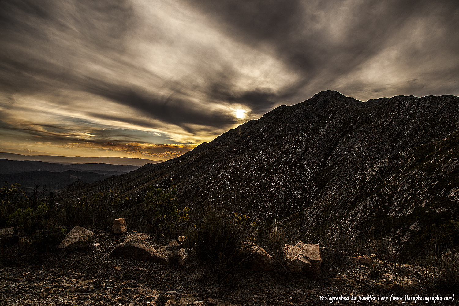 Swartberg South African Mountain