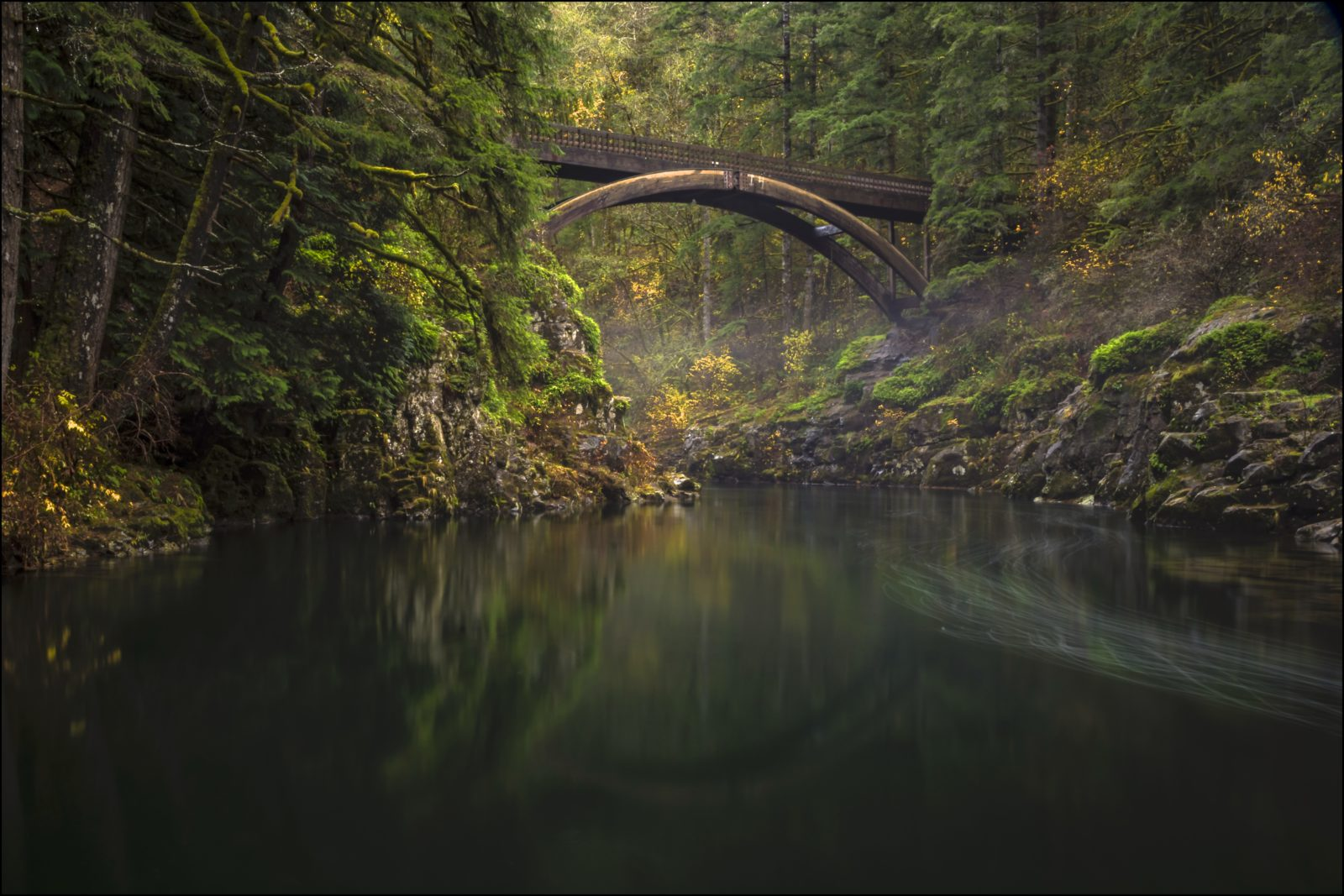 Bridging the Lewis River