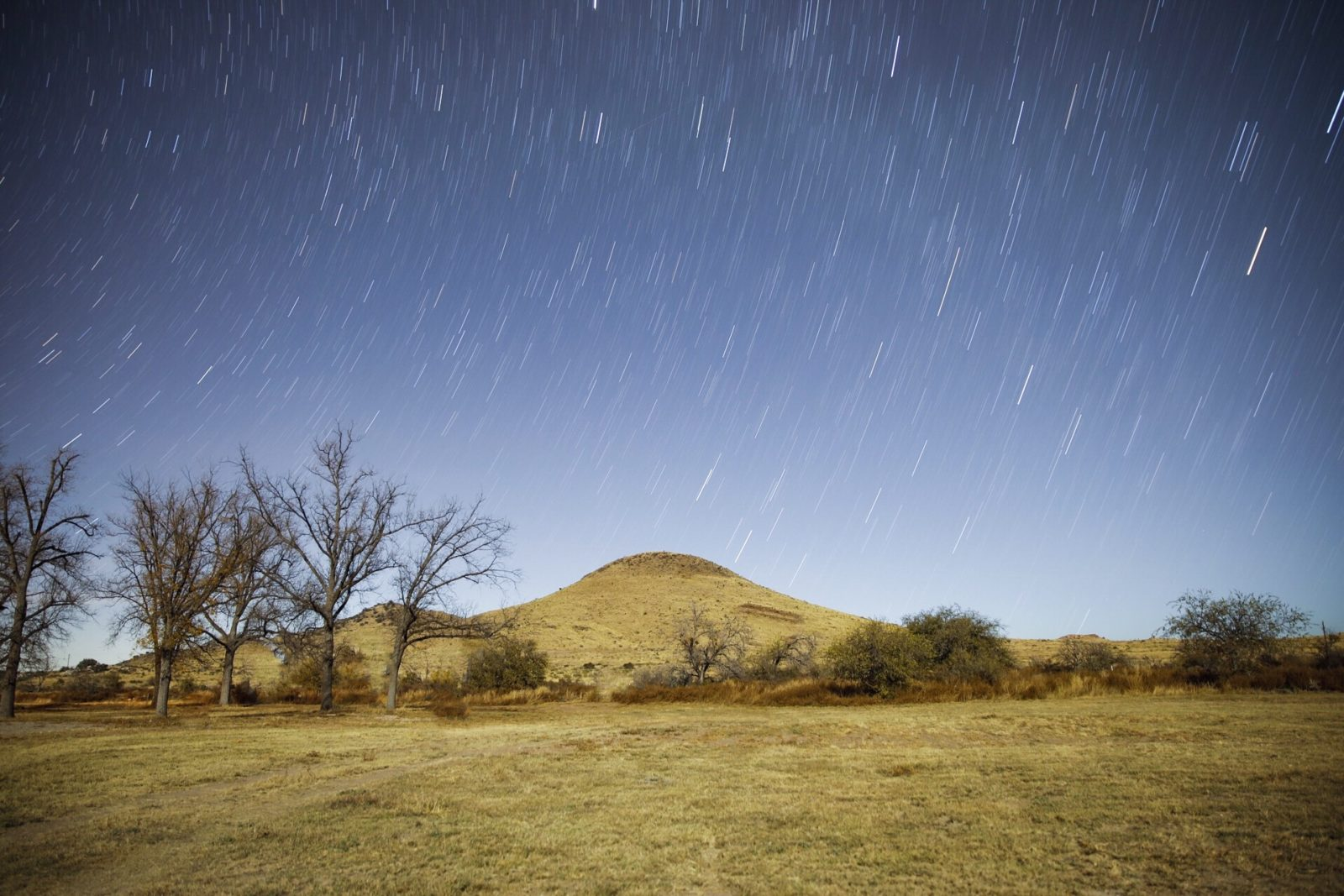 Star Trails Marfa Tx.
