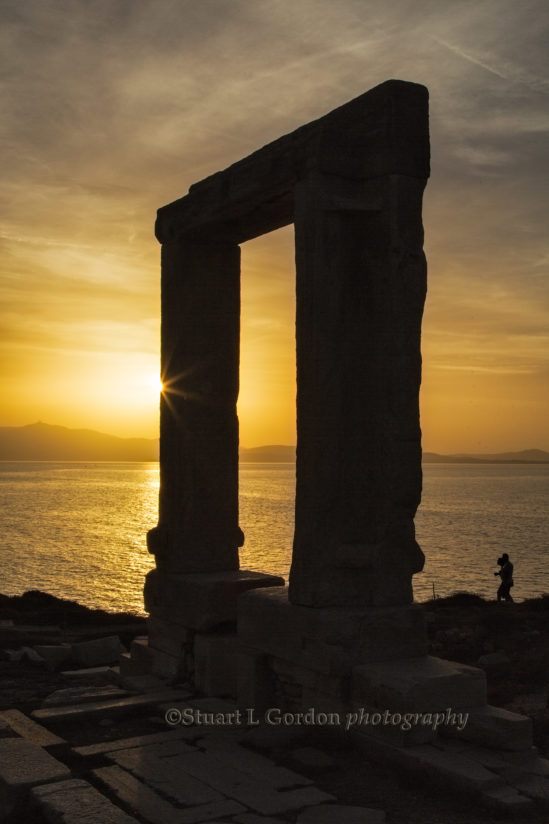 Sunset At The Temple Ruins