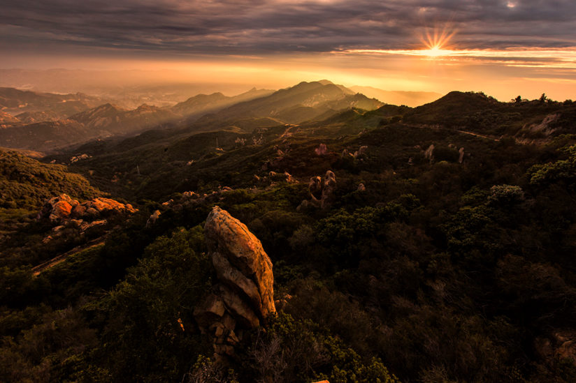 Santa Monica Mountains, California