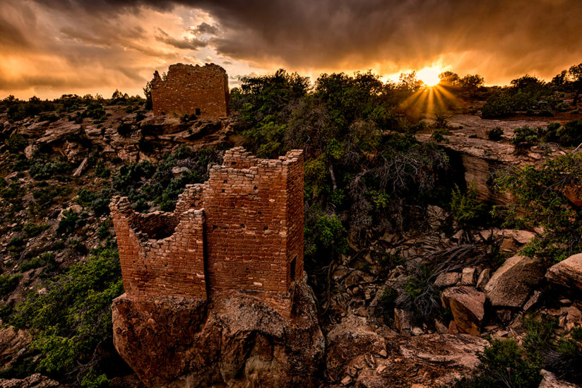 Native American Pueblo Ruins, Colorado