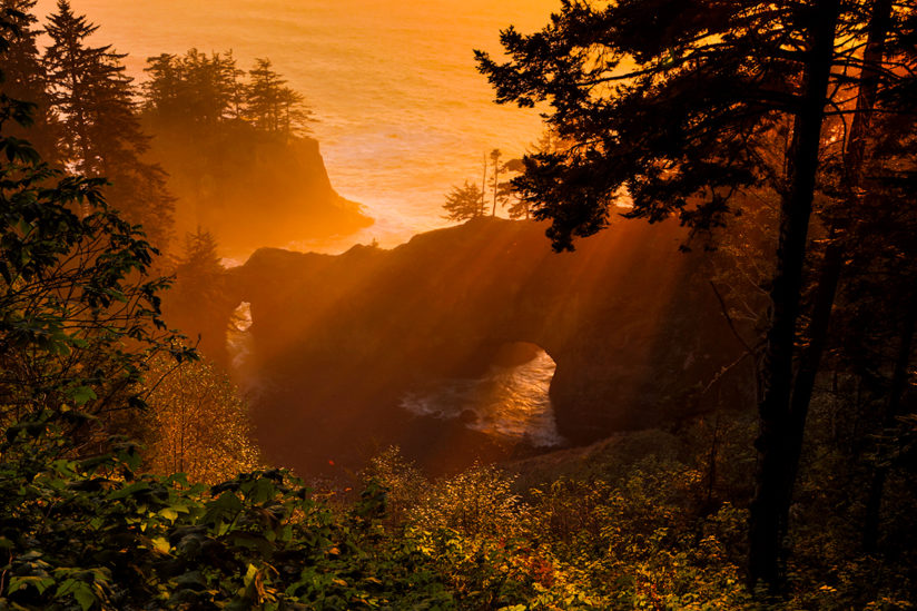 Natural Bridge, Samual Boardman Scenic Corridor, Oregon