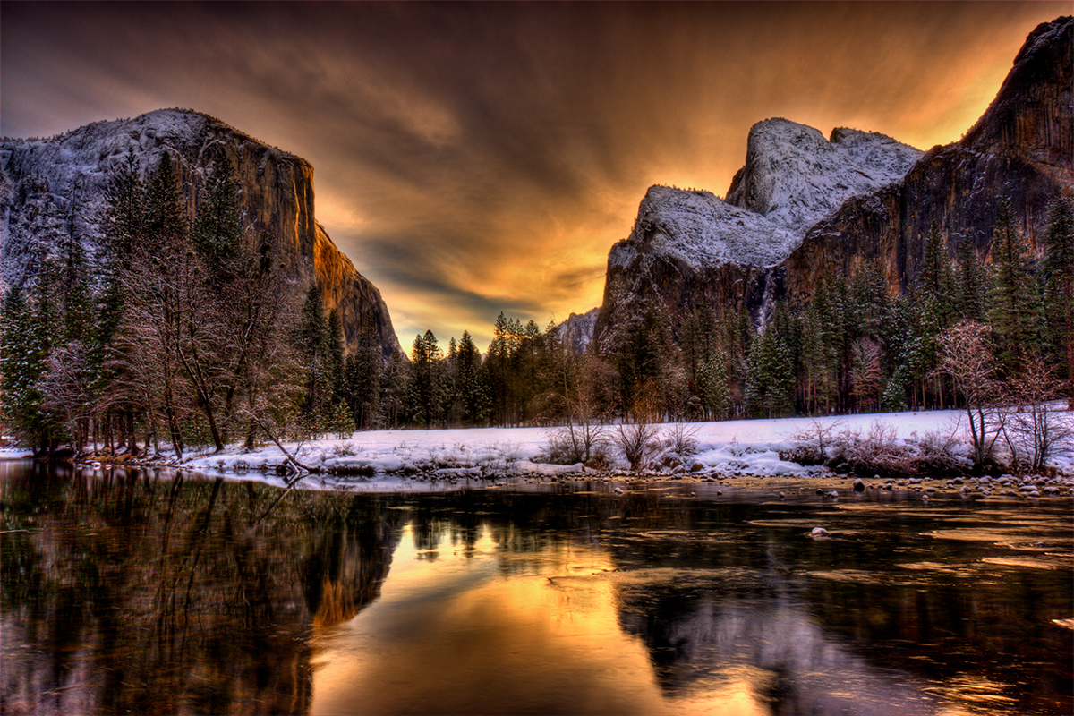Gates of the Valley, Yosemite National Park, California