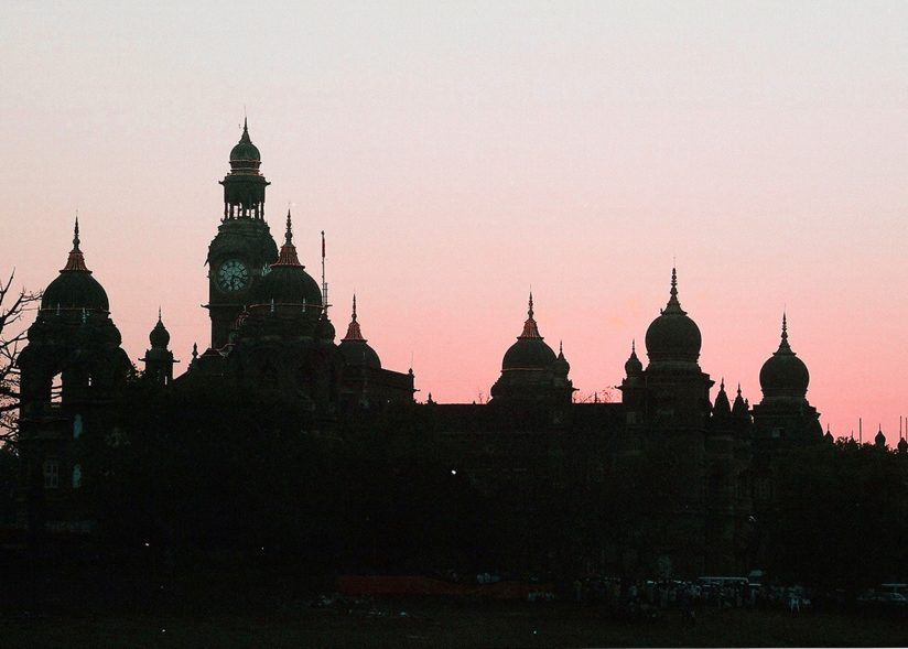 THE PALACE IN THE EVENING