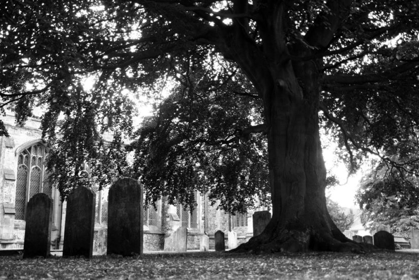 Hitchin Graveyard