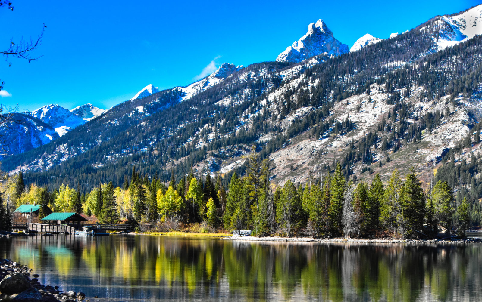 Reflections in Grand Tetons