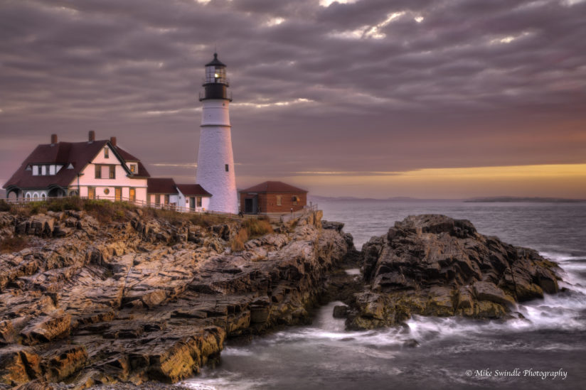 Portland Lighthouse Sunrise