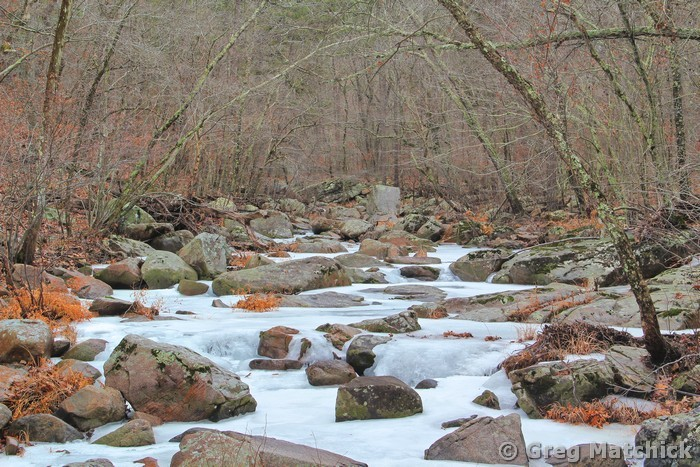 Frozen Pickle Creek 1