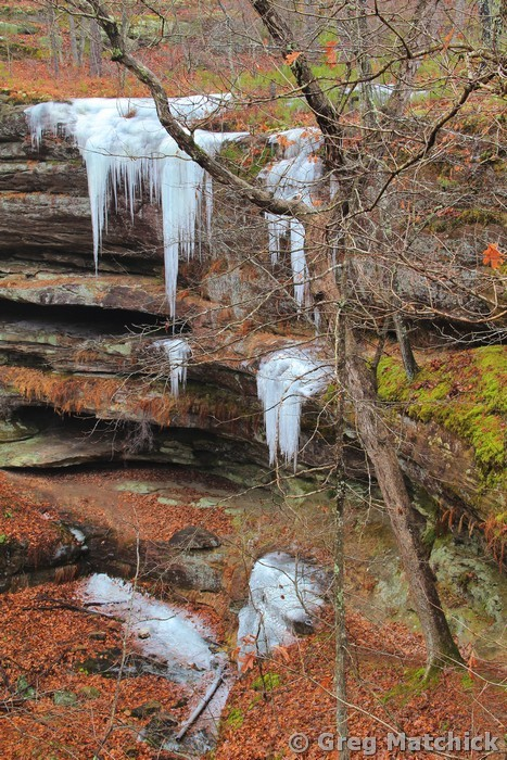 Icicles In Hickory Canyons 2