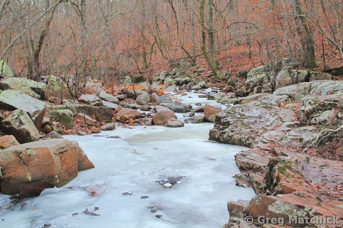 Ice On Pickle Creek 4