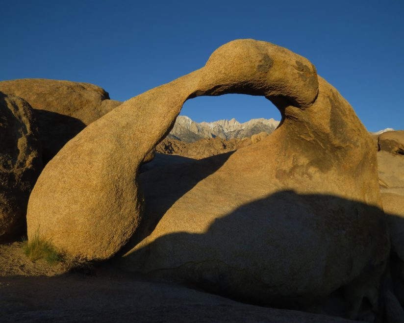 Mobius Arch and Mount Whitney