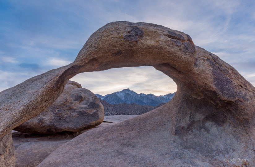 Mobias Arch and Lone Pine Peak