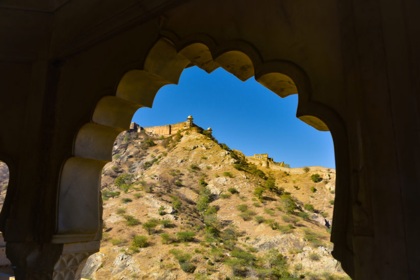 Amer Fort Wall