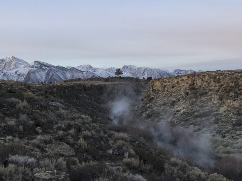 """""""Steam Rising from Hot Creek"""""""