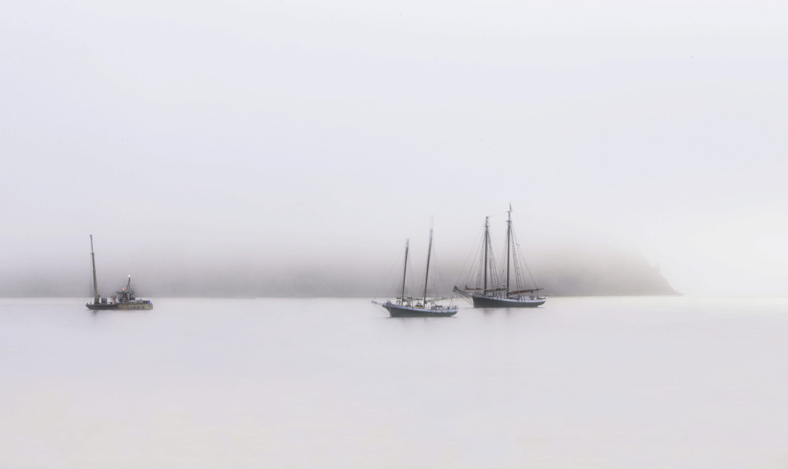 Fog Upon the Waters
