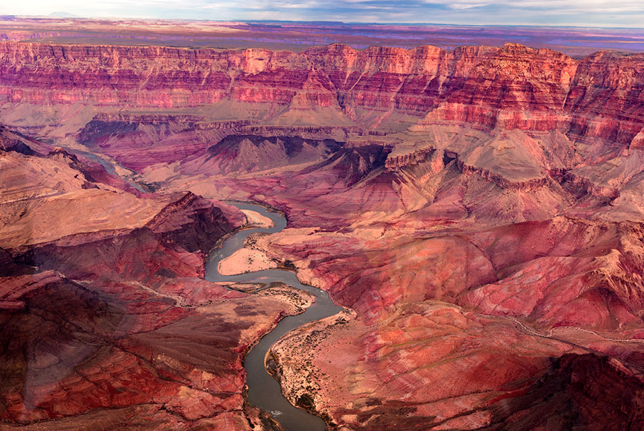 The Colorado River from Above