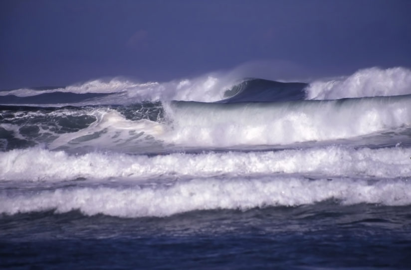 High Surf at Pupukea
