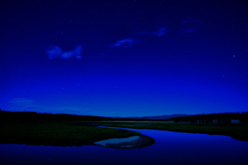 Pelican Creek at Night