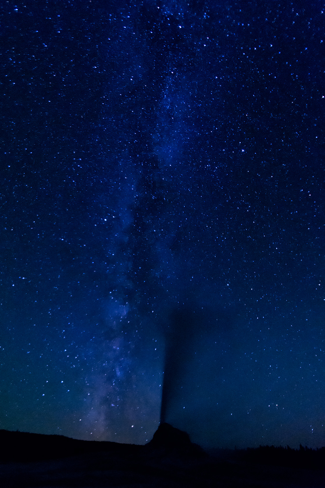 Milky Way and White Dome