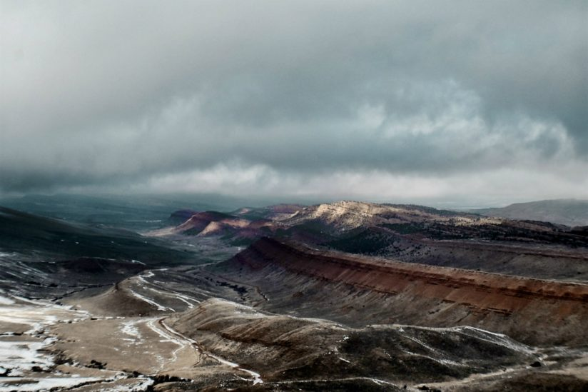 Red Canyon in Winter