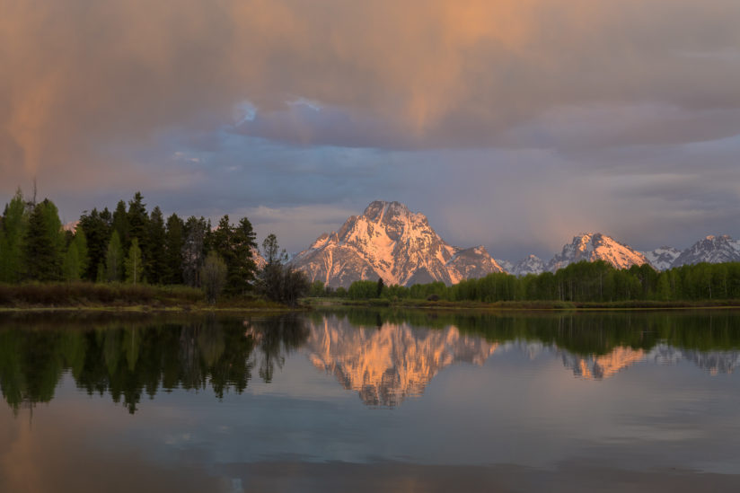 Early Morning Light at Oxbow Bend