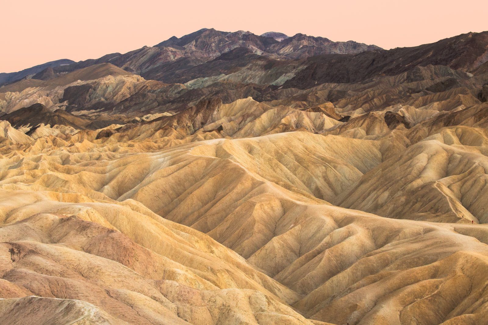 Colorful Hills of Death Valley National Park