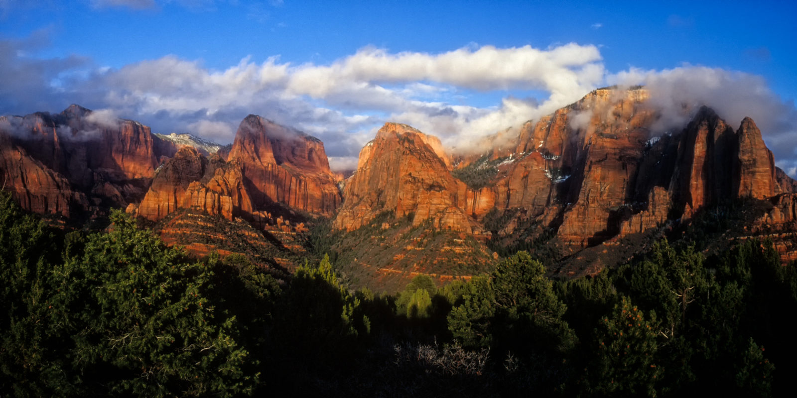 Finger Canyons of the Kolob