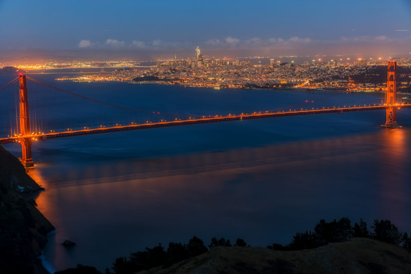 Golden Gate Bridge and San Fransico