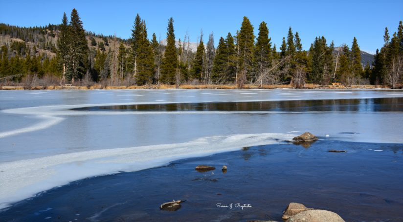 Icy Sprague Lake