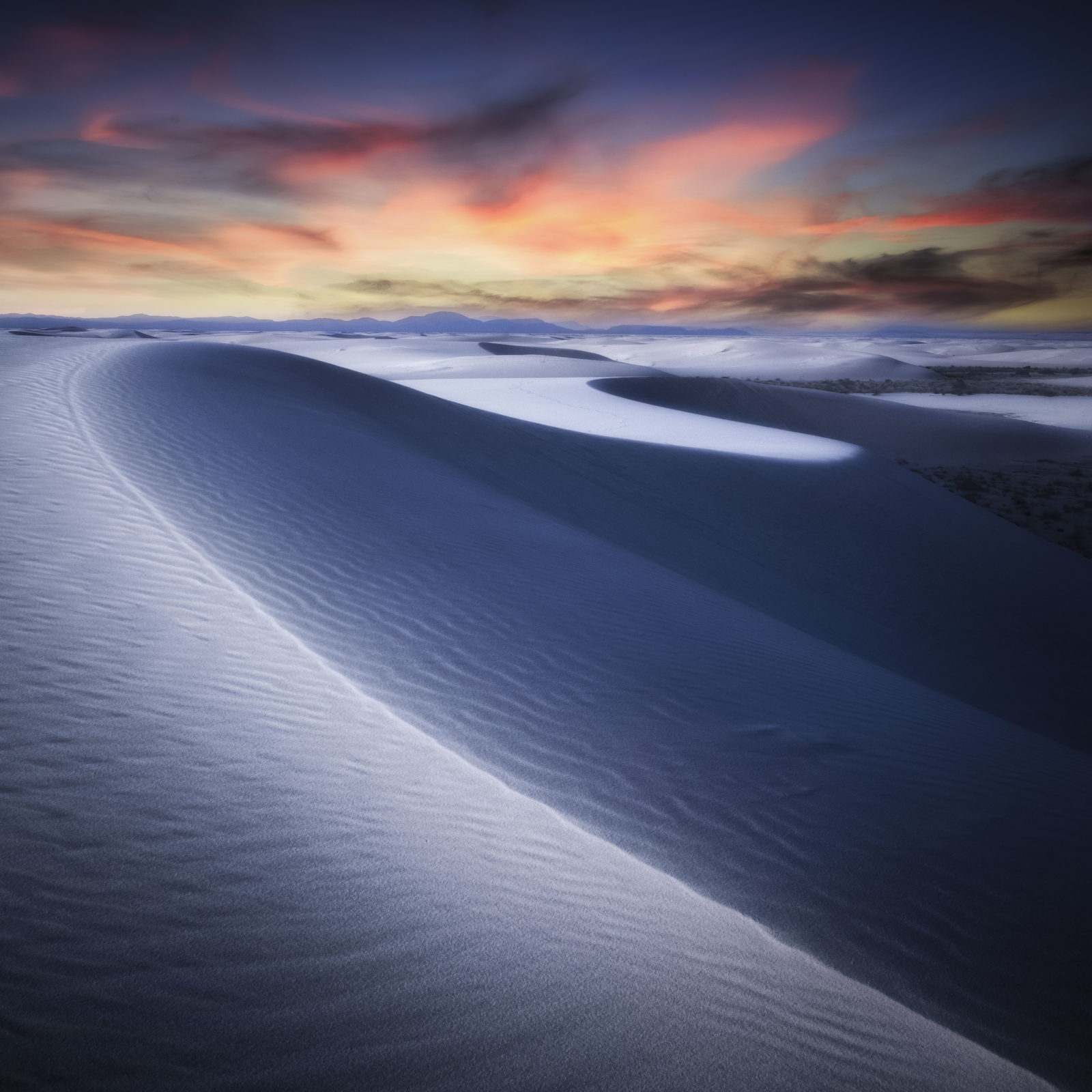 Line on the sand