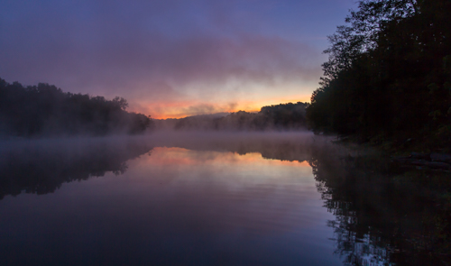 Sunrise A Kincaid Lake State Park