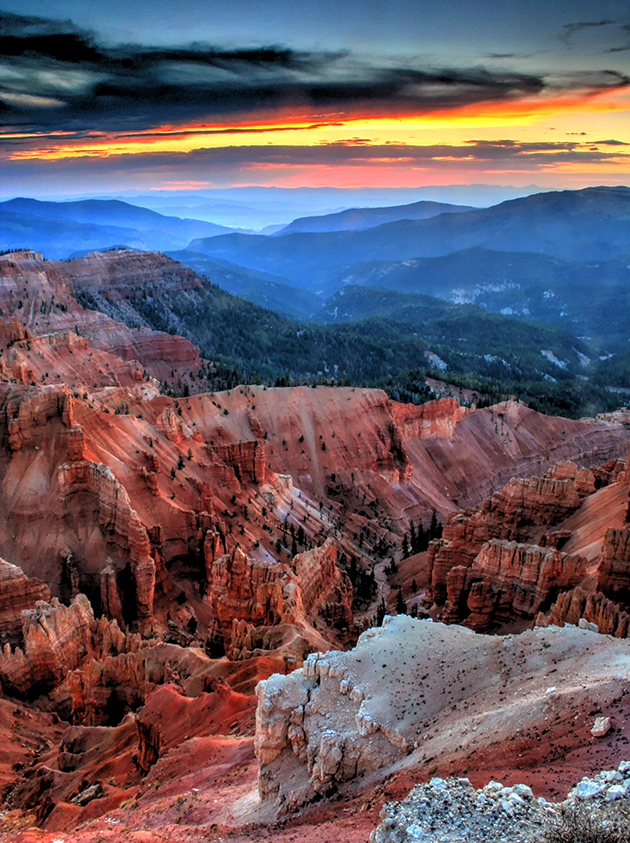 Twilight At Cedar Breaks, National Monument