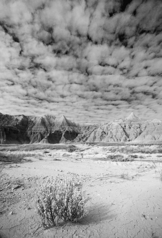 Badlands B&W