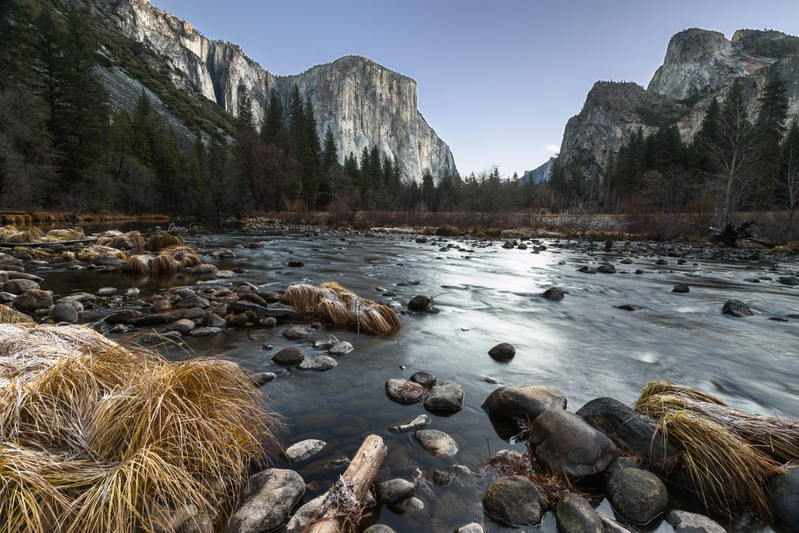 Frigid Yosemite Valley