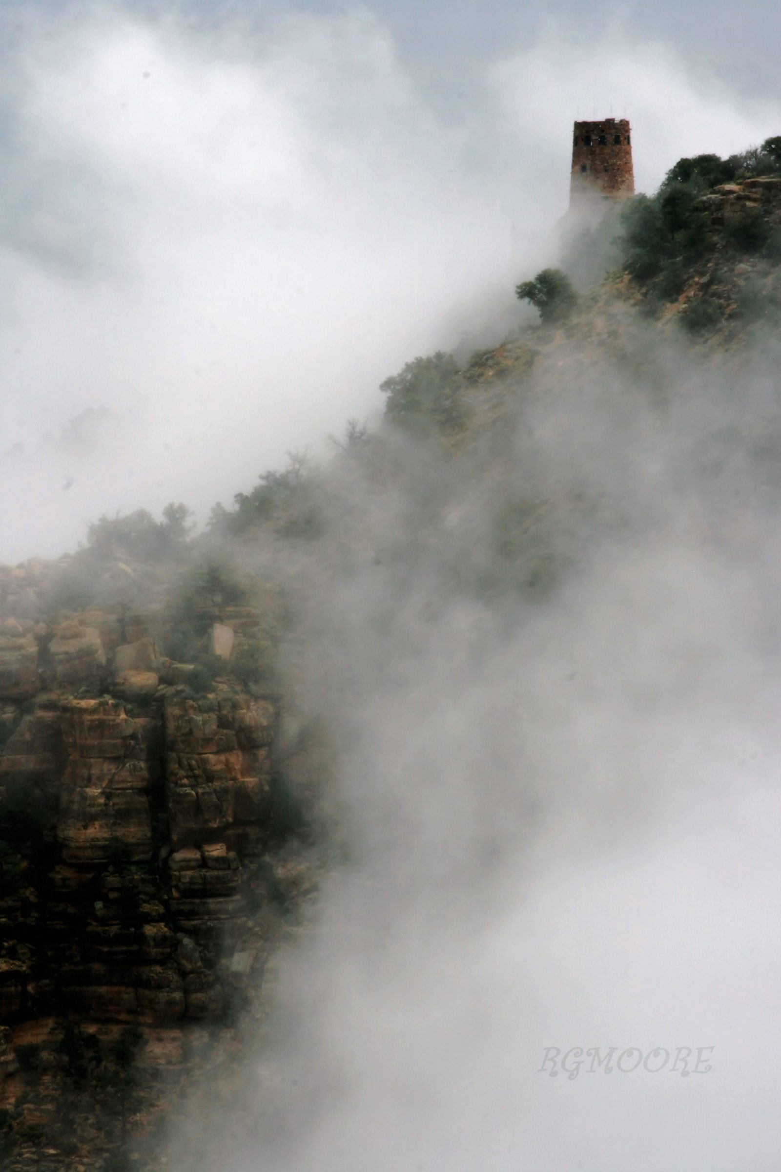 THE FOG OF THE GRAND CANYON