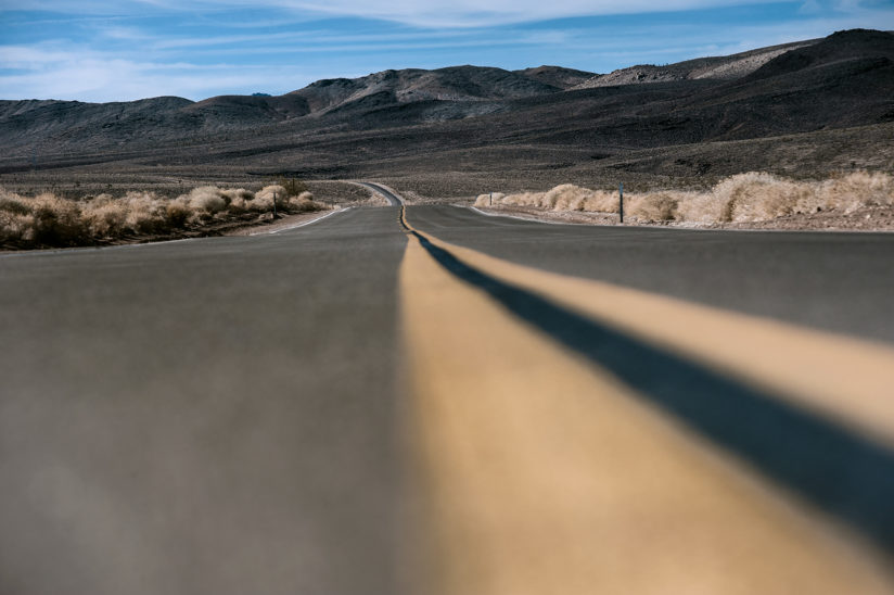Road out of Death valley