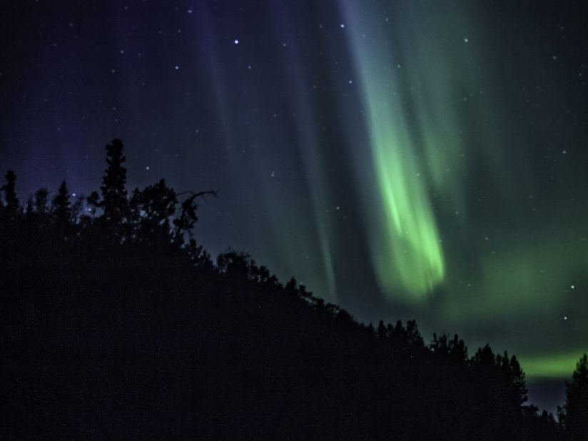 Summer Northern Lights
