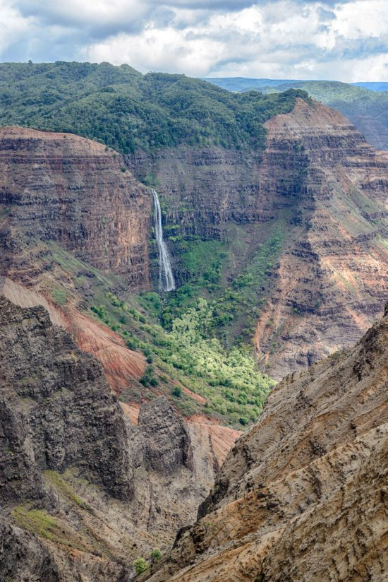 Waimea Canyon & Waterfall
